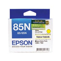 엡손(EPSON) 잉크 C13T122400 / NO.85N / 노랑 / Stylus Photo 1390 HQ5/Dye/HAV3 , Stylus Photo T60