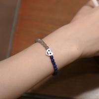 [Uni.J] i_b35 - heart Smile stone bracelet