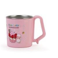 해피램 유아 스텐 머그컵(중-핑크)