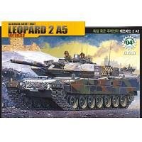 (아카데미과학-ACTA078) 1/48 독일 육군 주력전차 레오파드 2 A5 [모터] (13310)  탱크 프라모델