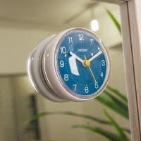 오리엔트 부착형 OT1599W 블루 욕실방수시계