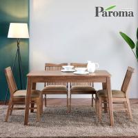 파로마 우든 4인용 원목 식탁세트 의자형 CR12