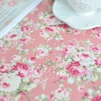 플로라 방수식탁보-핑크(2인~10인용)