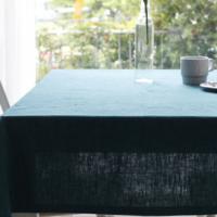 바이오워싱 퓨어린넨 테이블커버 - 블루&그린계열 (6color)