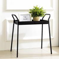 스틸 손잡이 테이블(블랙)철제테이블 화분선반 진열대