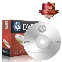 HP DVD-R 4.7GB 슬림케이스 1P(1장)/공시디/공CD/공DVD