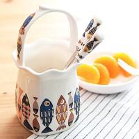 스칸디 블루피쉬 프릴수반 tea포크