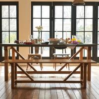 [채우리] 픽스 원목 식탁 벤치 의자