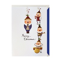 크리스마스카드/성탄절/트리/산타 산타악단모빌(FS202-5)