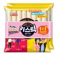 치즈쏙쏙 롯데햄 키스틱450g x 4봉(2묶음)