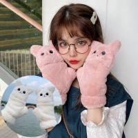 로키 고양이 벙어리 겨울 털장갑