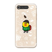 iPhone7 LINE FRIENDS SALLY TRAVEL Light UP Case