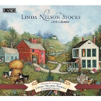 2018 벽걸이 달력 - Linda Nelson Stocks