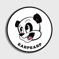 [어프어프] 스마트톡 Dot Panda-white