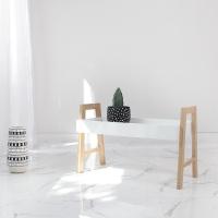 [벤트리] 원목 트레이 수납선반 4color (택1)