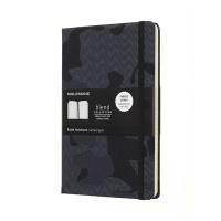 몰스킨 [18블렌드]룰드/카무플라즈 블랙 L
