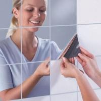 토미몰 거울 시트지 소형 6p