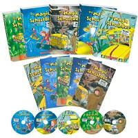 [영어 DVD]The Magic School Bus 신기한 스쿨버스 3집_5편(영한대본 5권포함)/초등영어
