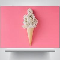아이스크림 꽃 - 감성사진 폼보드 액자