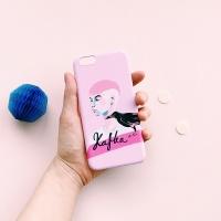Kafka called Crowboy Pink for Phonecase [플래네틸]