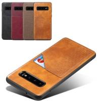 갤럭시S10/5G/플러스/S10E 가죽 카드 범퍼 폰케이스