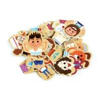 유아 자석 퍼니 퍼즐 놀이 학습 교구 가족
