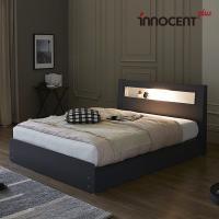 [이노센트] 리브 라이젠 LED 수납 침대 Q/K
