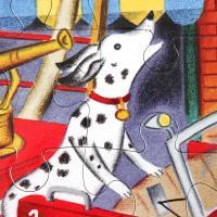 소방차와 강아지 20피스 퍼즐 / 3세이상