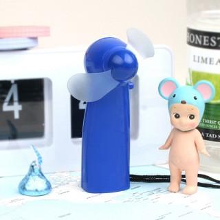 심플 핸디 선풍기 - 블루
