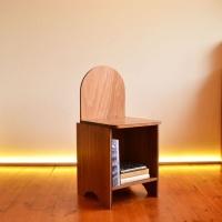 [리우목공방] 래빗 등받이 의자
