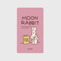 [어프어프] 보조배터리 Moon rabbit-pink