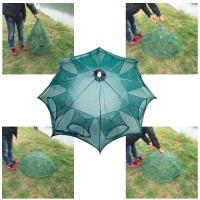 쿡레저 낚시 통발 망 우산형 원터치 8구  (S03590)