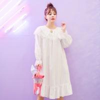 [쿠비카]큐티 도비면 원피스 여성잠옷 W520