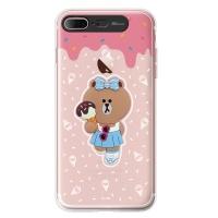 라인프렌즈 iPhone7 + CHOCO ICE Cream-AS CASE