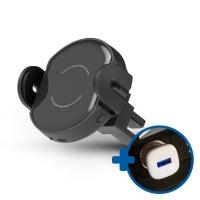 디셈DH-A01 차량용 QC3.0 모션거치대+시거잭