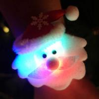 점등 LED 인형팔찌 (산타)