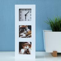 [베스트리빙] 액자 사진수납 시계