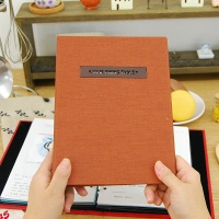 나만의 맛있는 기록 제이로그 레시피북 바인더-카멜