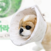 Dog Pose 순면감촉 유기농 핥지마 넥카라 - SML (n)