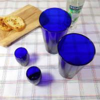 COBALT BLUE 텀블러 2P  라운드 샷잔 2P