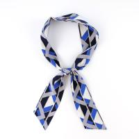 블루 트윌리 스카프 N674