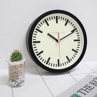 200레트로무소음벽시계(블랙)