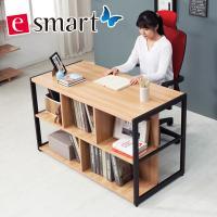[e스마트] 스틸 2단수납 책상
