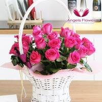 [엔젤스플라워] 핑크홀릭_일반형 전국꽃배달서비스 AGFYHF04BS