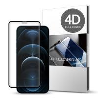 스킨즈 아이폰12프로맥스 4D 풀커버 강화유리 1매