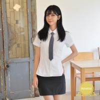 [빅사이즈] 프리미엄 여자 반팔 셔츠 (둥근카라) ~4XL