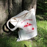 cherry basket bag  (에코백) 체리 바스켓 에코백