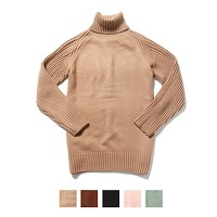 Dry Acrylic Turtle Neck Knit