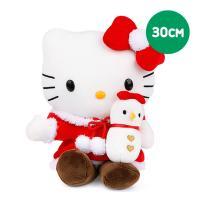 헬로키티 눈사람 봉제인형-중 M(30cm)