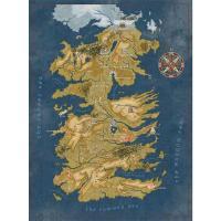 왕좌의게임 굿즈 1000 피스 퍼즐 (웨스테로스 지도)